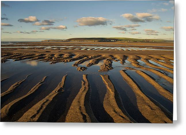 Saunton Sands Devon Greeting Card