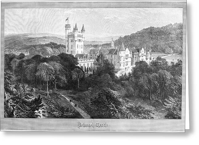 Scotland Balmoral Castle Greeting Card by Granger