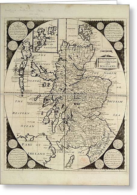 Scotland Greeting Card by British Library