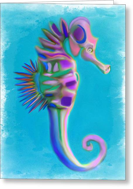 The Pretty Seahorse Greeting Card