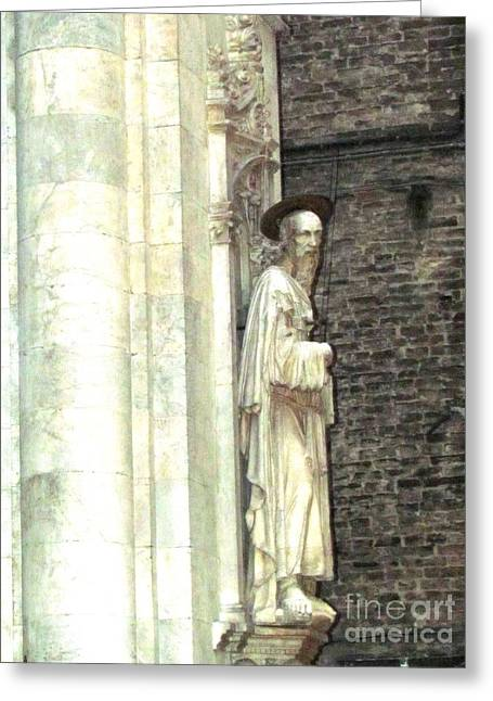 Siena Sculpture Greeting Card