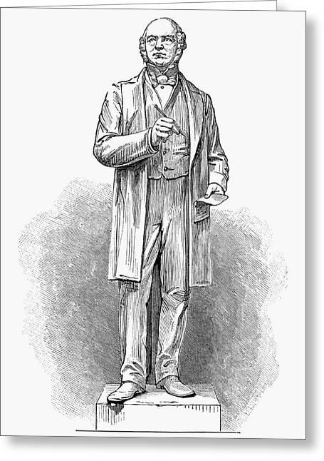 Sir Rowland Hill (1795-1879) Greeting Card