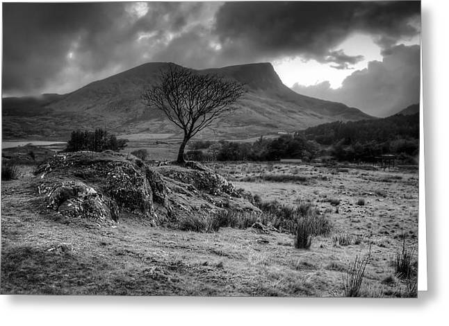 Greeting Card featuring the photograph Snowdonia National Park Wales by Richard Wiggins