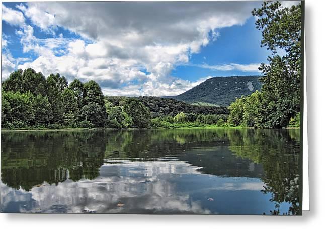 South Fork Shenandoah River Greeting Card