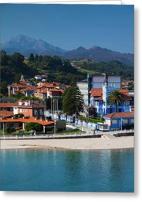 Spain, Asturias Region, Asturias Greeting Card by Walter Bibikow