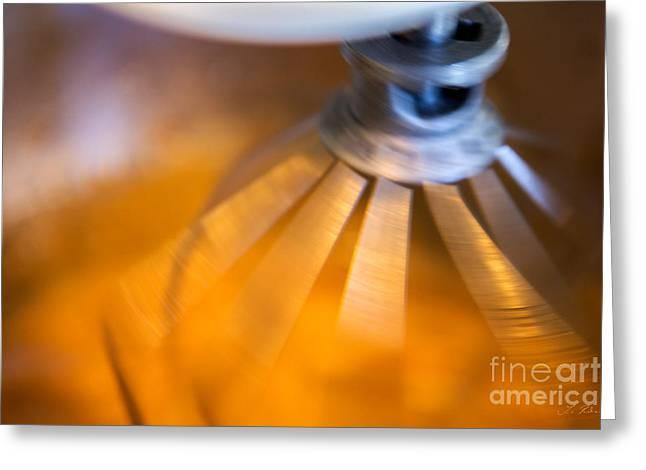 Spinning Mixer Greeting Card