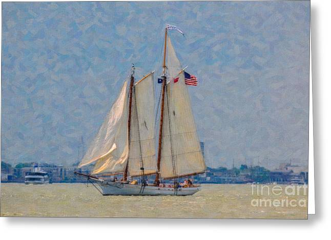 Spirit Of Sc Greeting Card by Dale Powell