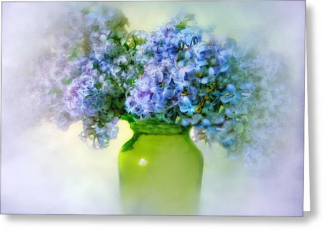 Springtime Greeting Card by Jessica Jenney