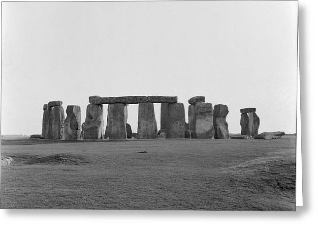Stonehenge Greeting Card by Anonymous