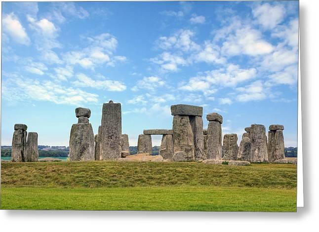 Stonehenge Greeting Card by Joana Kruse