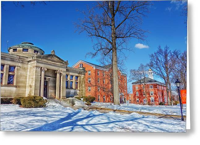 Suffield Academy - Connecticut Greeting Card