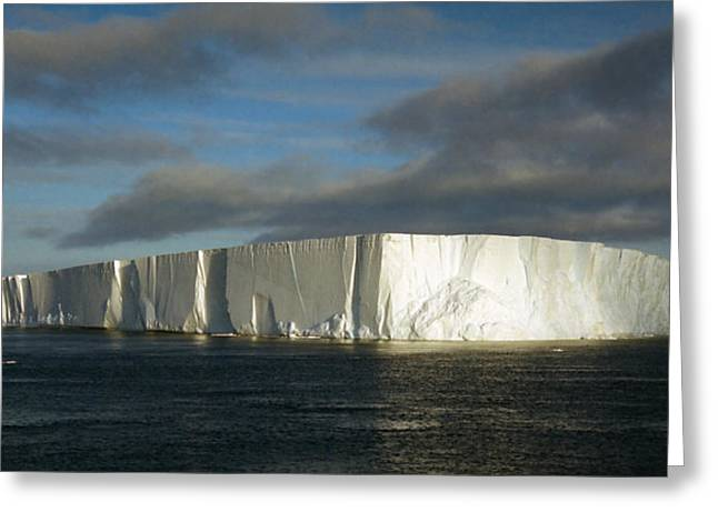 Tabular Iceberg Antarctica Greeting Card by Carole-Anne Fooks