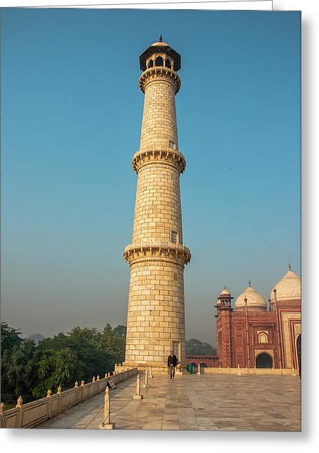 Taj Mahal, Agra, Uttar Pradesh, India Greeting Card