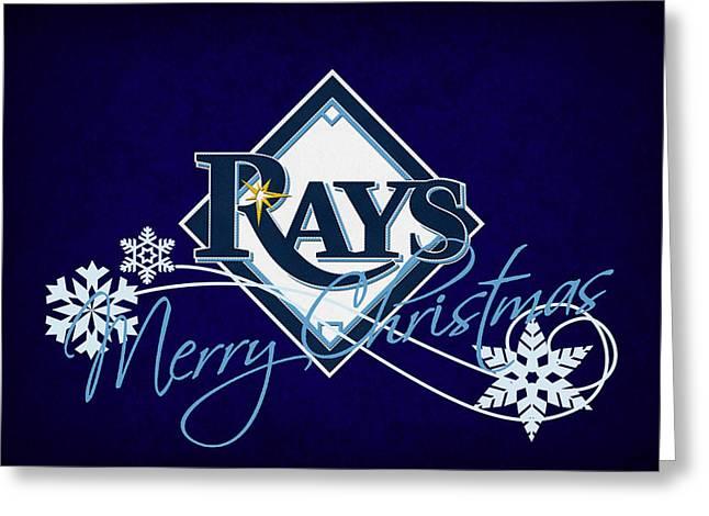 Tampa Bay Rays Greeting Card by Joe Hamilton