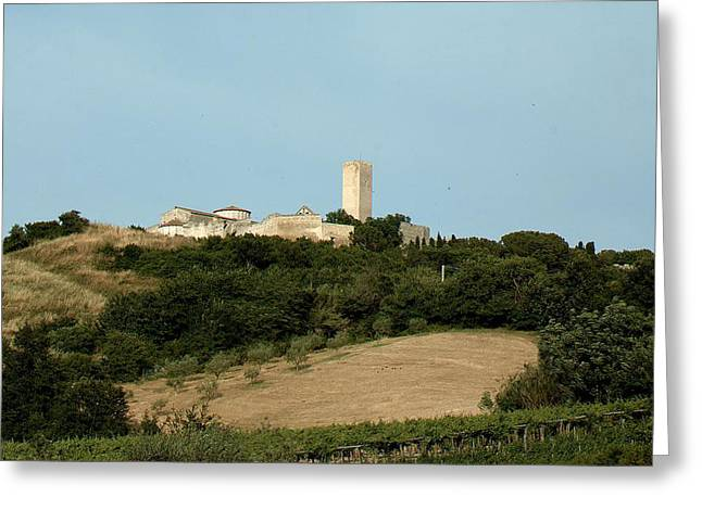 Tarquinia Landscape Greeting Card