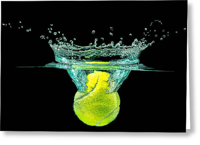 Tennis Ball Greeting Card
