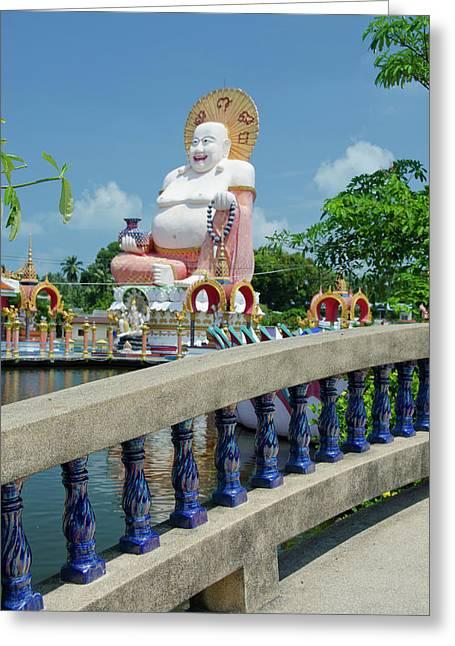 Thailand, Ko Samui (aka Koh Samui Greeting Card by Cindy Miller Hopkins