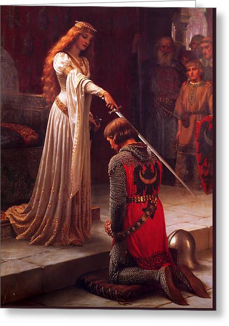 The Accolade Greeting Card