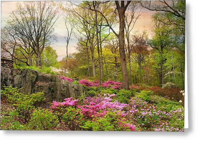 The Azalea Garden Greeting Card