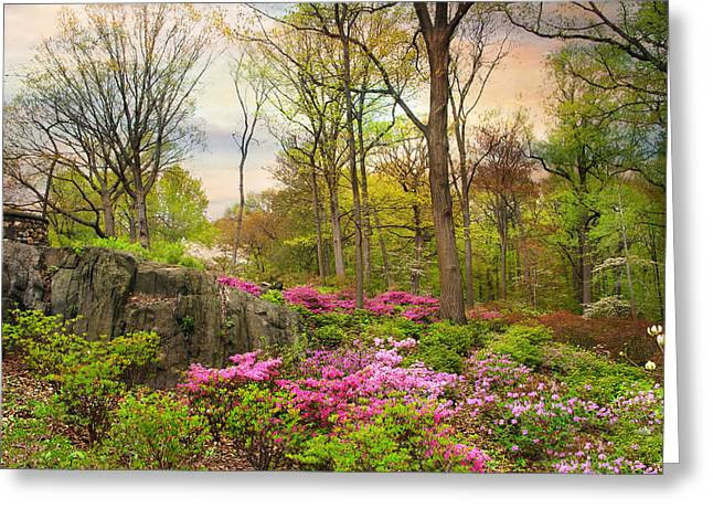 The Azalea Garden Greeting Card
