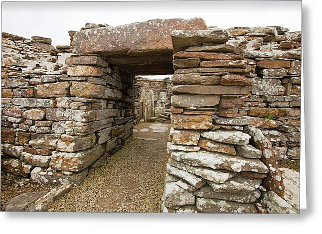The Broch Of Borwick Greeting Card by Ashley Cooper