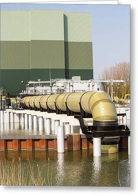 The Diemen Combined Heat And Power Plant Greeting Card