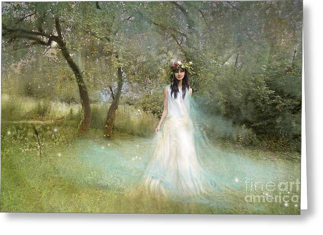 The Summer Fairy Greeting Card