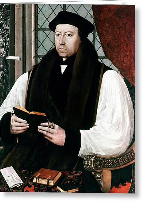 Thomas Cranmer (1489-1556) Greeting Card