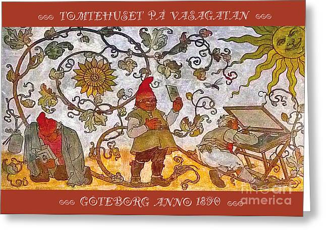 Tomtehuset   Greeting Card