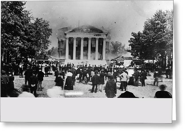 University Of Virginia Greeting Card by Granger