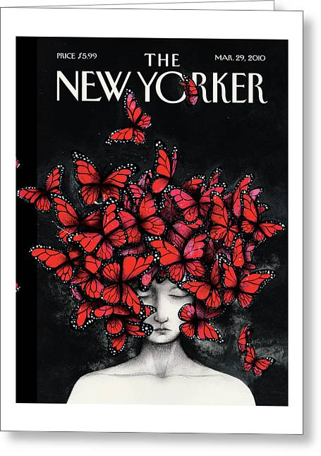 New Yorker March 29th, 2010 Greeting Card