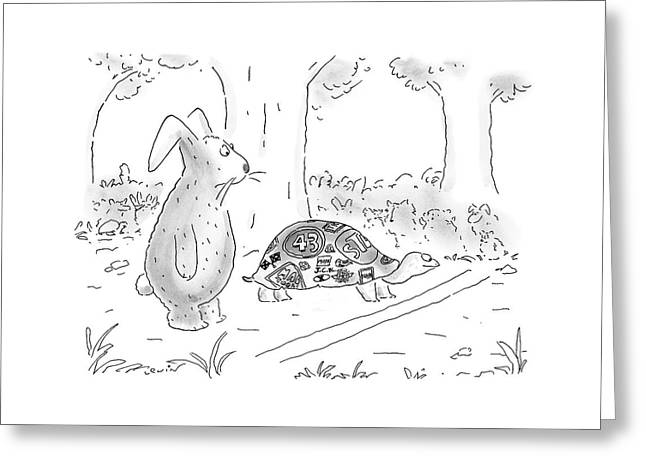 New Yorker August 21st, 2000 Greeting Card