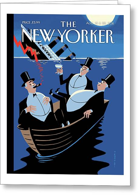 New Yorker August 15th, 2011 Greeting Card