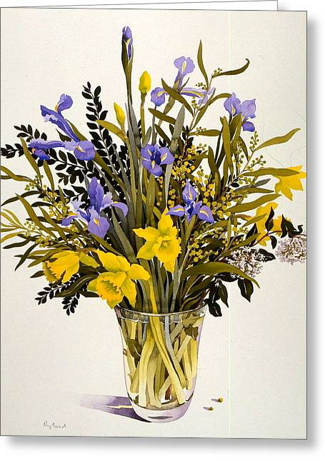 Untitled Greeting Card by Christopher Ryland