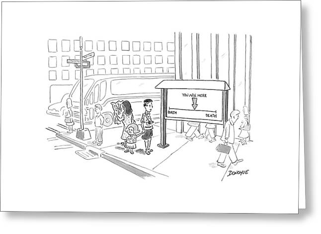 New Yorker July 10th, 2006 Greeting Card by John Donohue