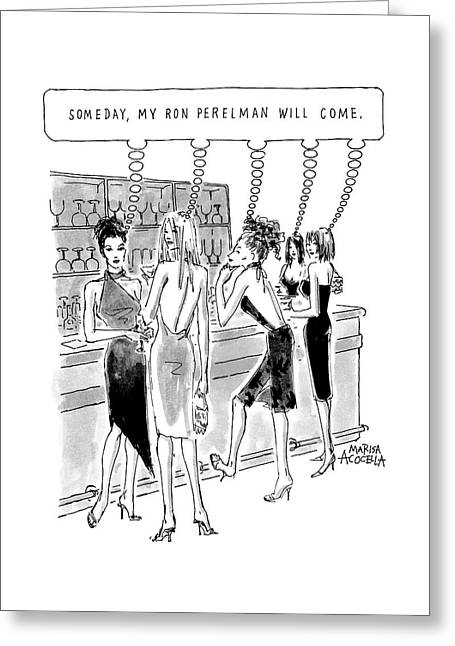 New Yorker August 21st 2000 Greeting Card