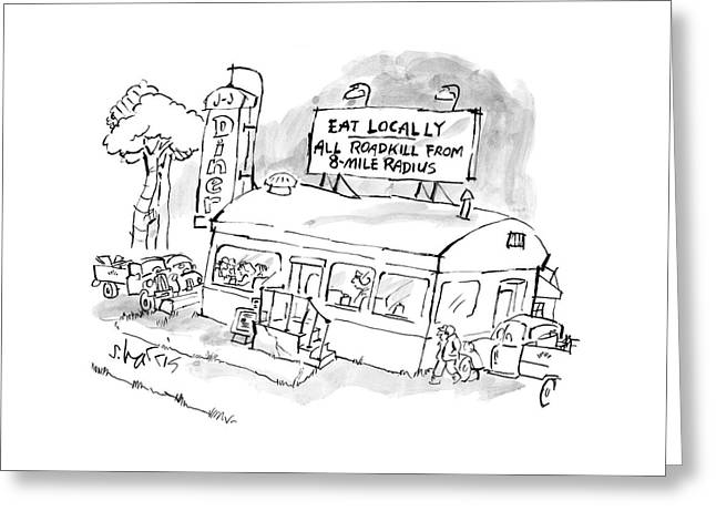 New Yorker November 24th, 2008 Greeting Card