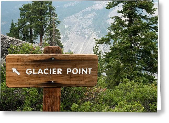 Usa, California, Yosemite National Greeting Card by Bernard Friel