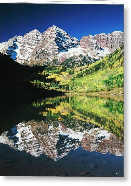 Usa, Colorado, White River National Greeting Card by Adam Jones