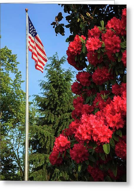 Usa, Oregon, Salem, State Capitol Greeting Card