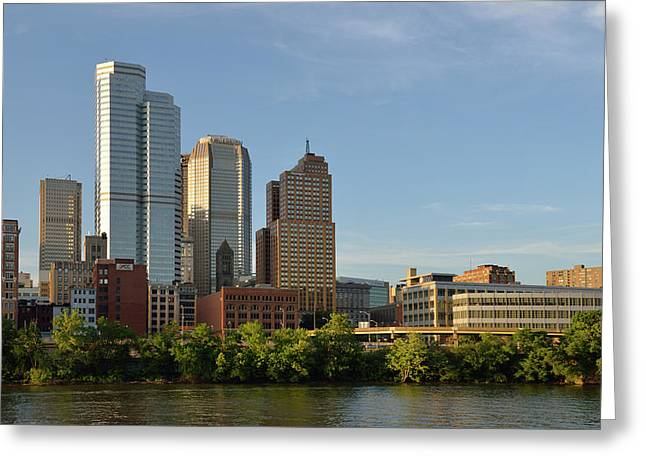 Usa, Pennsylvania, Pittsburgh Greeting Card by Kevin Oke