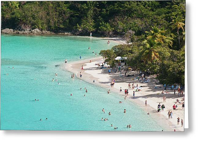 Usa, Usvi, St John Greeting Card