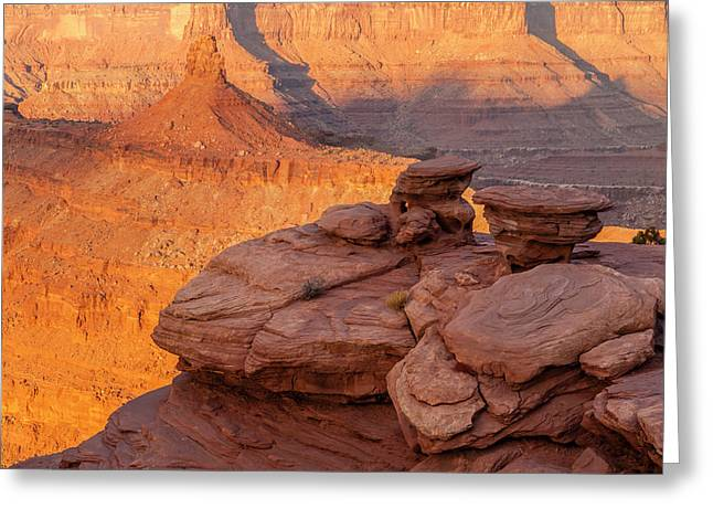 Usa, Utah, Dead Horse Point State Park Greeting Card by Jaynes Gallery