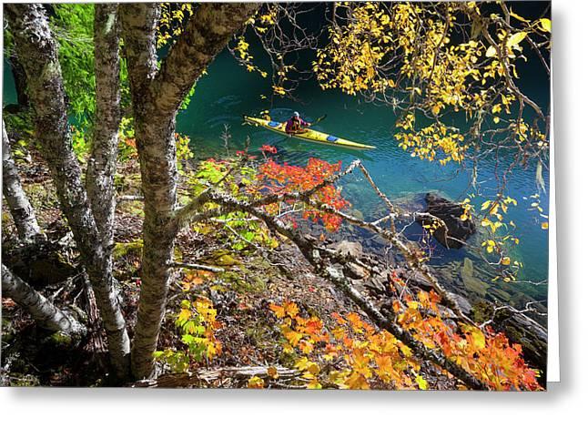 Usa, Washington State, North Cascades Greeting Card