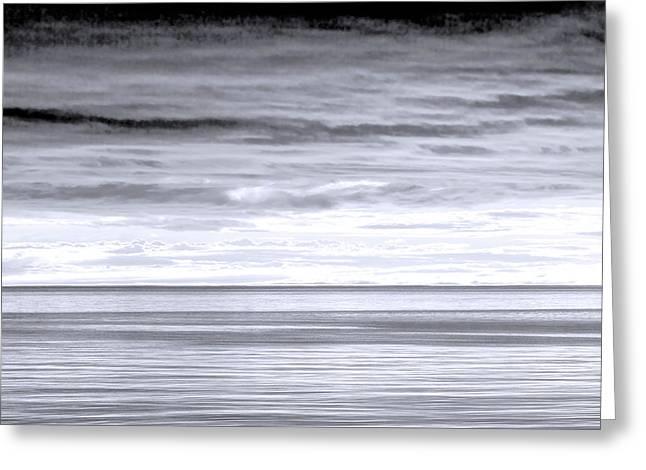 Usa, Washington Sunrise On Strait Greeting Card