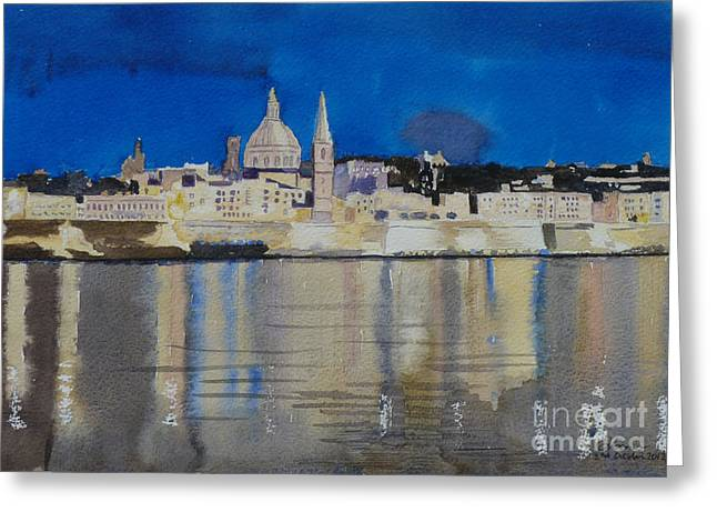 Valletta Malta Greeting Card