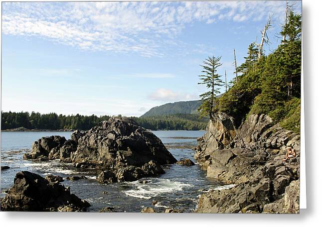 Vancouver Island, Clayoquot Sound Greeting Card