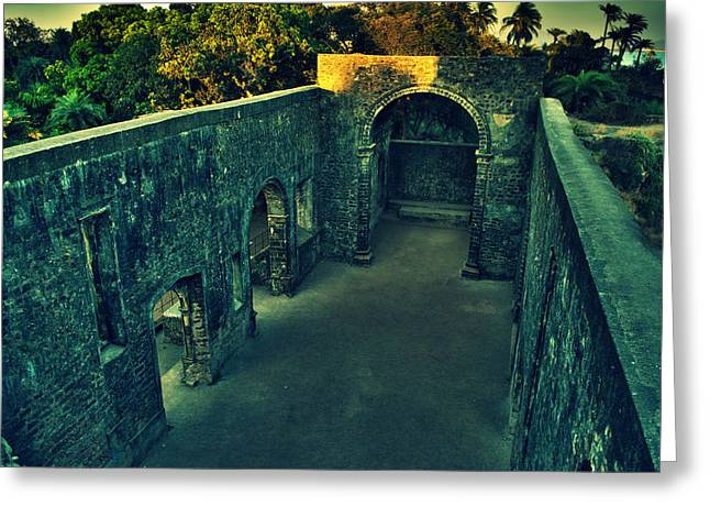 Vasai Fort Greeting Card by Salman Ravish
