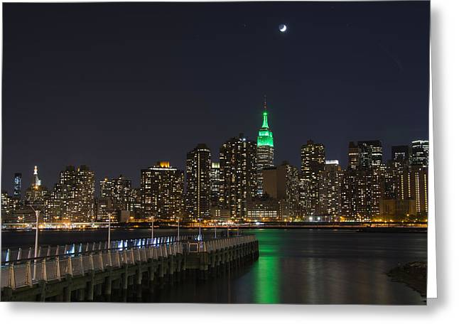 View From Gantry Plaza State Park Greeting Card