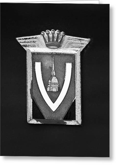 Vignale Emblem Greeting Card by Jill Reger